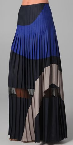 BCBGMAXAZRIA Nouveau pleated skirt