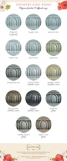 Elegance - Sample Finishes #DIY #furniturepaint #paintedfurniture #example…