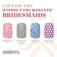 Romantic Bridesmaids