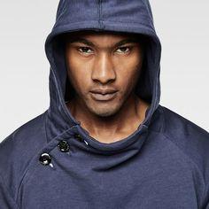 G-Star RAW | Men | Bestsellers | Lufab Navy Hooded Sweat , Indigo
