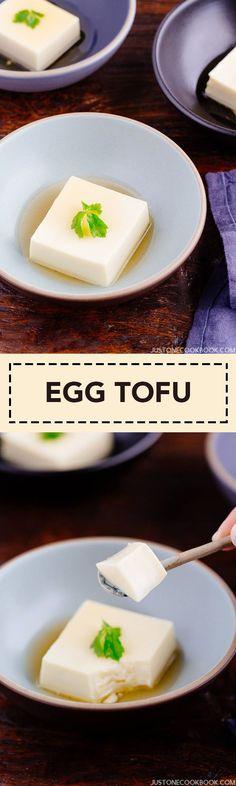 Egg Tofu (Tamago Tofu) 玉子豆腐 – 'Midnight Diner: Tokyo Stories'