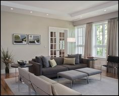 grey sofa cream walls - Google Search