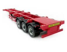 1/14 40 ft container full metal trailer RED RC NISON-RC NISON MODEL Ultimate products