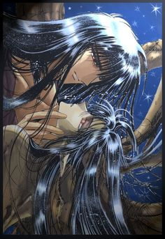 RG Veda Yasha and Ashura.. This is gorgeous..