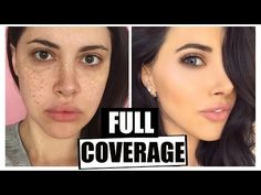 Drugstore Foundation Routine || Full Coverage Flawless Skin 2016 - YouTube