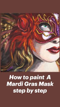 Canvas Painting Tutorials, Acrylic Painting Lessons, Painting Videos, Acrylic Art, Broken Heart Art, The Art Sherpa, Face Art, Painting Techniques, Amazing Art