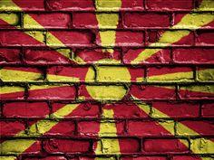 #banner #brick #bricks #country #emblem #flag #macedonia #nation #national #patriot #patriotic #patriotism #symbol #wall 4k