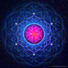 Spirit Consciousness by Cosmic Armour http://www.sacredgeometryart.com/anna-vincitorio/