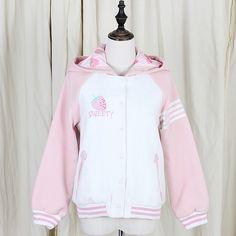 Fabric:cotton+blend    Color:pink    S:Length:59cm,Sleeve:66cm,Bust:102cm,    M:Length:60cm,Sleeve:67cm,Bust:107cm,