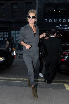 Kate most gorgeous jumpsuit. and love the glasses