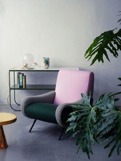 Macro Zanuso's LADY Armchair by Cassina, available at Centro.
