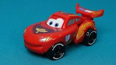The Cars in English. My new toy Lightning McQueen. Transformer McQueen f...