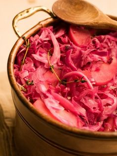 Chef Michael Smith | recipe | Apple Stewed Red Cabbage