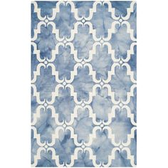 An alluring interplay of color and texture distinguishes Dip-Dyed rugs by Safavieh as one-of-a-kind works of art for your floor. Each rug is hand-tufted...