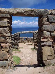 Ruinas de Chincana ,,, Isla del Sol. Copacabana - Bolivia