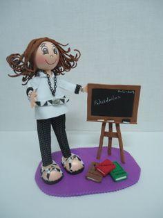 Fofucha personalizada Profesora