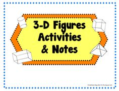 Figures Activities and Notes- Perfect for Interactive Math ...