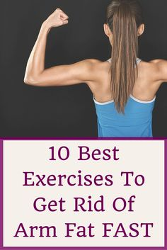 Lose Fat Fast - These 10 exercises are proven to help you lose arm fat. - Do this simple 2 -minute ritual to lose 1 pound of belly fat every 72 hours Fast Weight Loss, Weight Loss Program, Healthy Weight Loss, Weight Loss Tips, Losing Weight, Lose Arm Fat Fast, Lose Body Fat, Burn Arm Fat, Low Carb High Fat