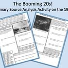 $1 This 2-page handout provides an assortment of quotes and images for students to analyze with guiding questions for a better understanding of the ec...