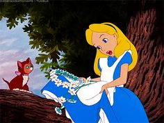 Alice in Wonderland #gif #Disney