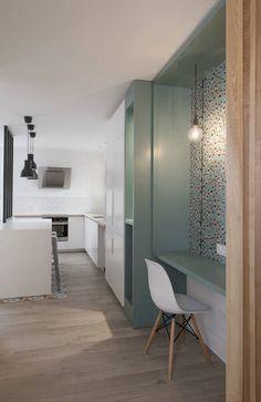miniature Rénovation d'un appartement à la Croix Rousse, Lyon, Marion Lanoë - architecte d'intérieur