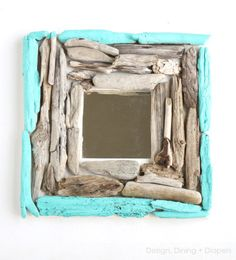 How to: Make A Nautical Chic Driftwood Mirror » Curbly | DIY Design Community