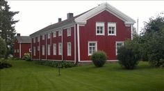 The traditional long houses in my family home regions. Osthrobotnian house, built 1802, Finland - Pohjalaistalo