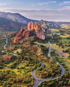 Garden of the Gods, Colorado Springs, Colorado, USA. Road Trip Usa, Places To Travel, Places To See, Boulder Colorado, Colorado Hiking, Colorado Usa, Cortez Colorado, Colorado Mountains, Colorado Springs Map