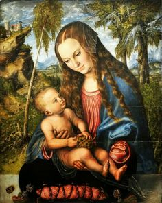 Lucas Cranach the Elder Madonna Under the Fir Tree 1510