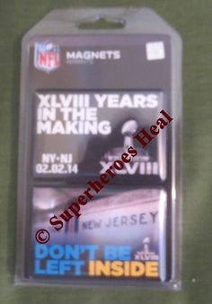 #12thMan #SeattleSeahawks #SuperBowl XLVIII #Magnets #NY #NJ #Seattle #Seahawks #Denver #Broncos Magnets on #eBay with a percentage going to the Special Olympics of New York