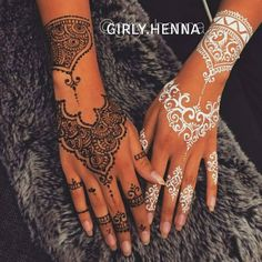One of My #signature design which brought thousands of people so Close to the #henna World!!! Proud to create this design ♥ #girlyhenna