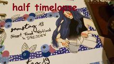 Plan With Me ♡ Filofax Wochendeko ♡ KW 11 /2017 *think blue* half TIMELAPSE