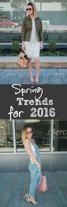 Spring Trends for 2016! Love these ideas. So cute!