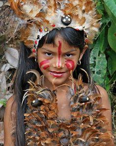A Girl from where life's by the River Boca da Valeria | Boca Amazon.