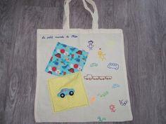 Sac pour transporter les cahiers ou les affaires des enfants : Sacs enfants par tout-perso