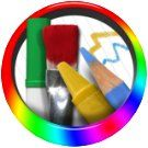 Drawing Pad app. Darren Murtha Design. For Kindle Fire and other Android devices