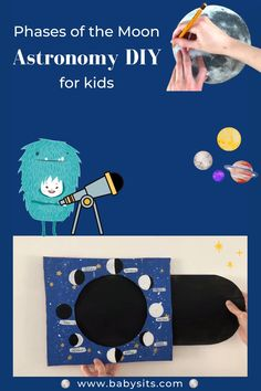 Phases of the Moon Astronomy DIY for Kids