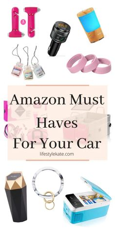 Best Amazon Buys, Best Amazon Gifts, Cute Car Accessories, Car Interior Accessories, Travel Accessories, Car Essentials, Decor Inspiration, Decor Ideas, Car Hacks