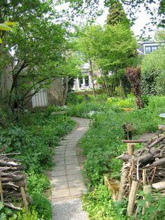 Nelle Driessen Natuurtuinen: Ontwerp van een grotere stadstuin