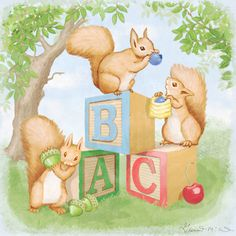 ABC Squirrels is the perfect blend of cuteness and education!