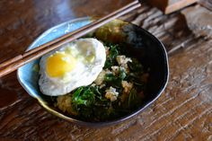 Kale Fried Rice for One – Infinitely Adaptable Recipe