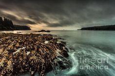 Swirling Waters - photograph by Steven Reed #stevenreed #kodiakalaska #seascapephotography