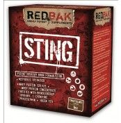 Redbak Sting Protein 1kg  Why is Redbak STING the best metabolic Optimiser. The protein component of Redbak STING is produced using cross flow micro-filtration and ultra-filtration to ensure a high level of undenatured protein with low levels of fat and exceptional nutritional quality. Redbak STING is easy to mix and is highly soluble in water, milk and fruit juice.   For more info visit: http://www.gymandfitness.com.au/redbak-sting-protein-1kg.html