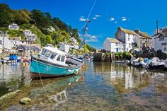 Polperro -- have found a promising, reasonably priced cottage here for a Cornwall base