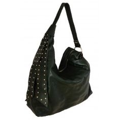 Elicia Charvet -- Stylish Green Leather Hobo with Ties  Free Shipping  Fabhere.com.au
