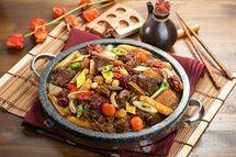 Korean short rib stew http://koreanfood.about.com/od/meatdishes/r/galbijim.htm
