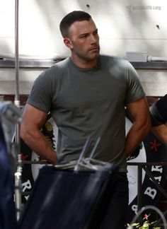 Ben Affleck. Love him, check out the arms
