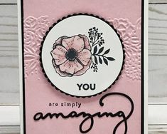 Image result for amazing you stampin up