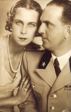 King Umberto II (1904-1983) and Queen Marie-José (1906-2001) - The Royal Forums