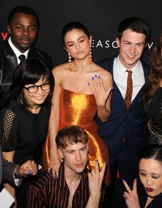 SELENA GOMEZ at 13 Reasons Why Premiere in Los Angeles 03/30/2017